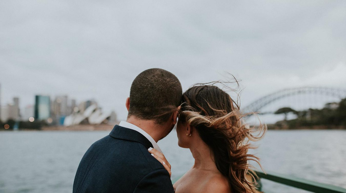 Maria Photography wedding anniversary photographer Athol Beach Harbour bridge